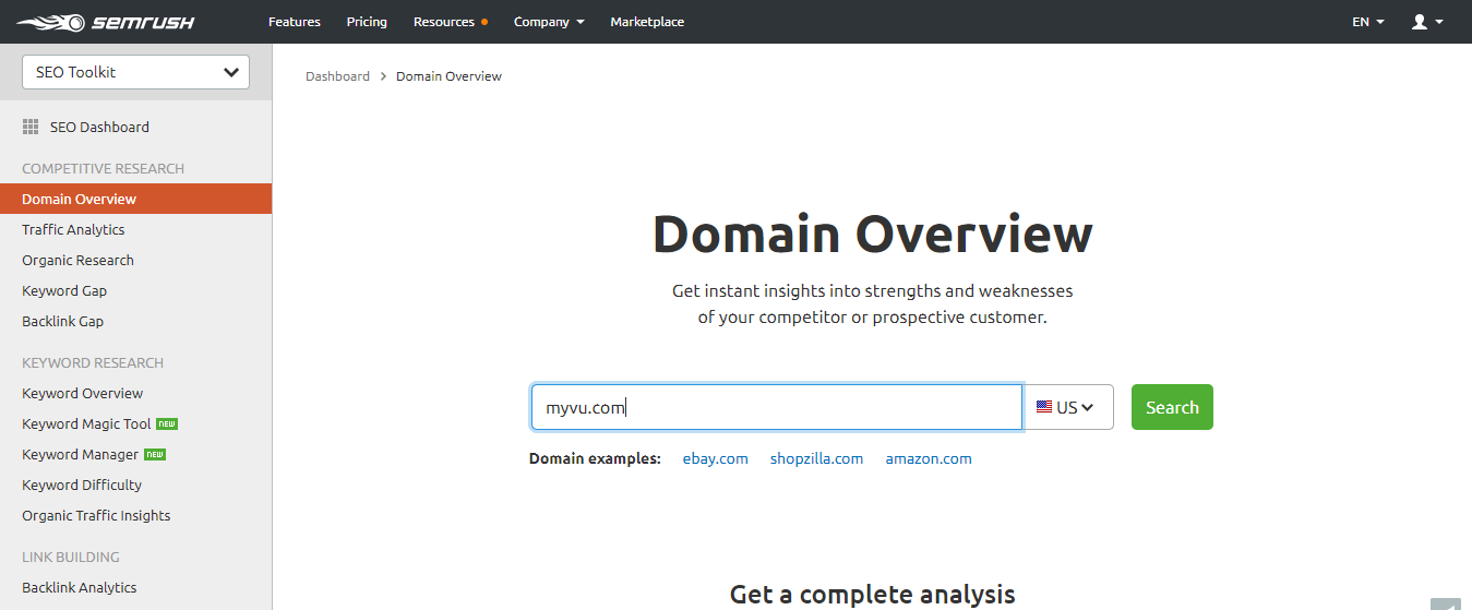 semrush-domainoverview