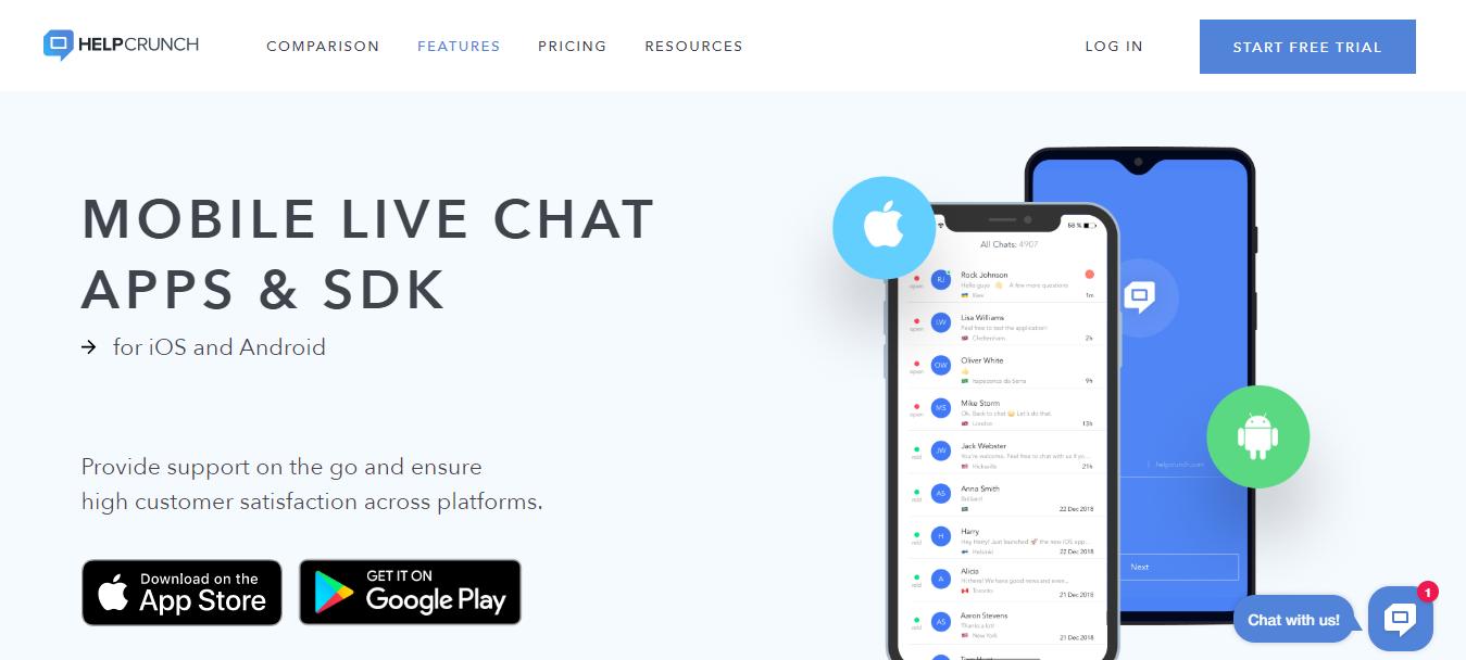 HelpCrunch-mobile-livechat-apps