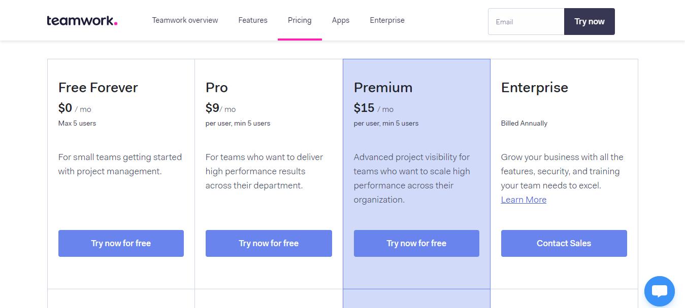 teamwork-pricing