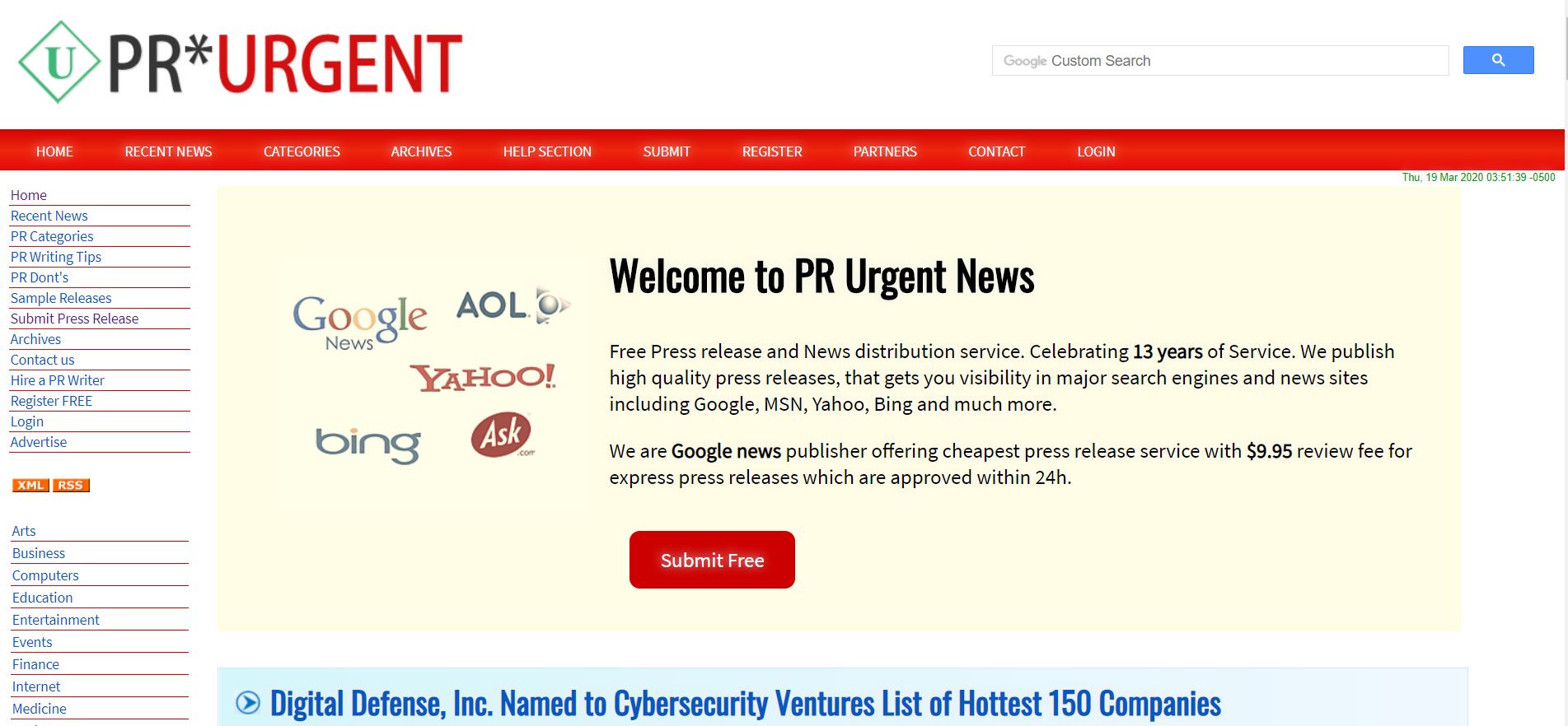 prurgent-press-release-site
