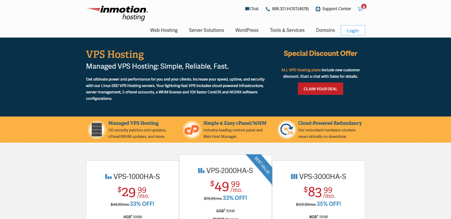 InMotion VPS