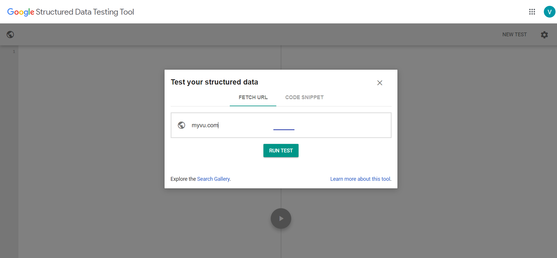 Structured_Data_Testing_Tool