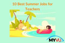 10 Best Summer Jobs for Teachers