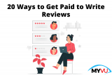 20 Ways to Get Paid to Write Reviews