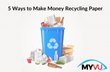 5 Ways to Make Money Recycling Paper