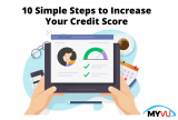 10 Simple Steps to Increase Your Credit Score