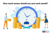 How much money should you save each month?