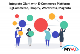 Integrate Olark with E-Commerce Platforms BigCommerce, Shopify, WordPress, Magento