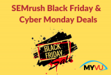 SEMrush Black Friday and Cyber Monday Deals: Limited Time Offers