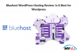 Bluehost WordPress Hosting Review: Is It Best for WordPress ? -Complete Overview of Pros & Cons