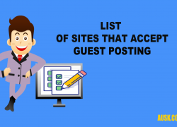 Guest Posting Sites List 2018